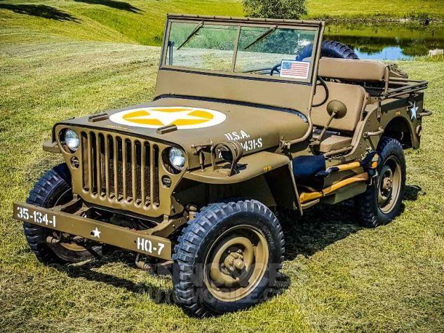 Jeep Willys MB 1944 KAKI Neuf - 3