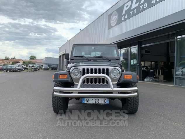 Jeep WRANGLER TJ 2.5 L 118 CV Sport Noir Occasion - 1