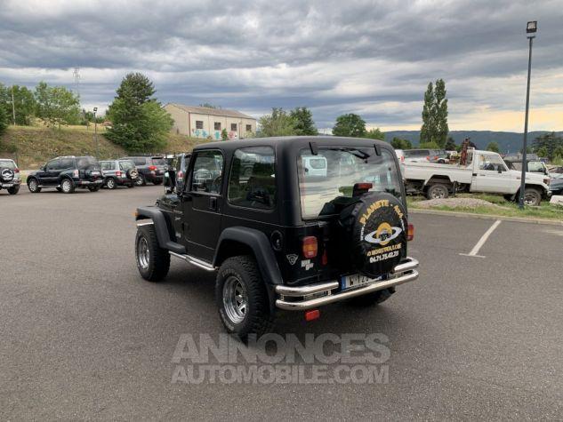 Jeep WRANGLER TJ 2.5 L 118 CV Sport Noir Occasion - 3