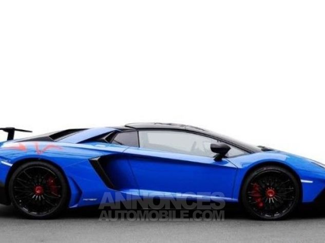 Lamborghini Aventador Lp 750-4 SV Roadster 1 of 500 Blu Direction - 8