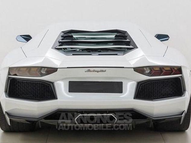 Lamborghini Aventador LP700-4 e-gear  blanc Occasion - 4