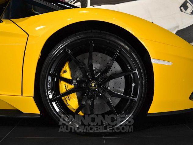 Lamborghini Aventador S Roadster V12 LP 740-4 JAUNE METAL Occasion - 7