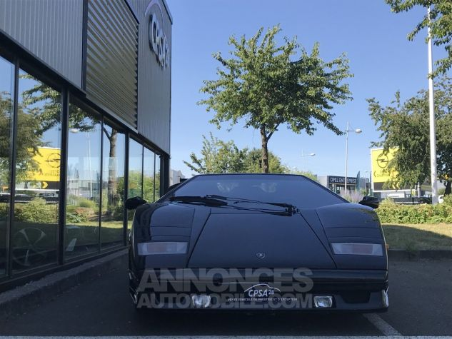 Lamborghini Countach 25 anniversaire noire Occasion - 1