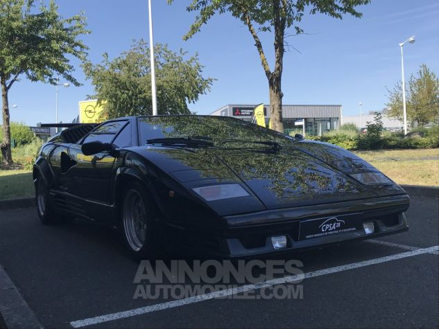 Lamborghini Countach 25 anniversaire noire Occasion - 2