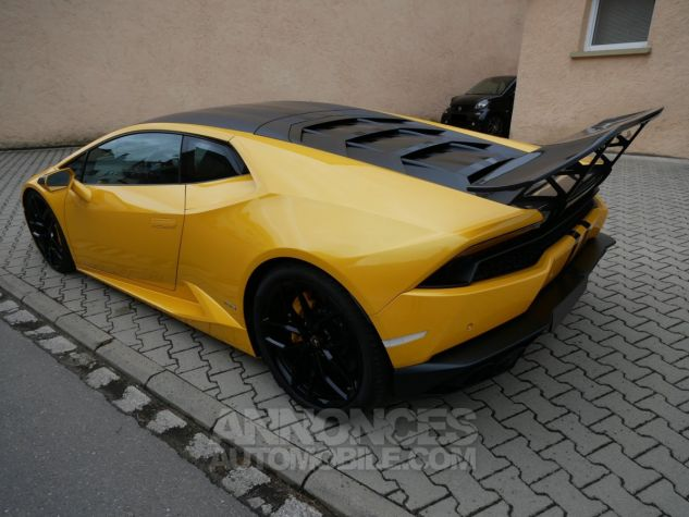 Lamborghini Huracan LP 610-4, Magneto, Lift System, Caméra, Échappement Racing GIALLO MIDAS Occasion - 4