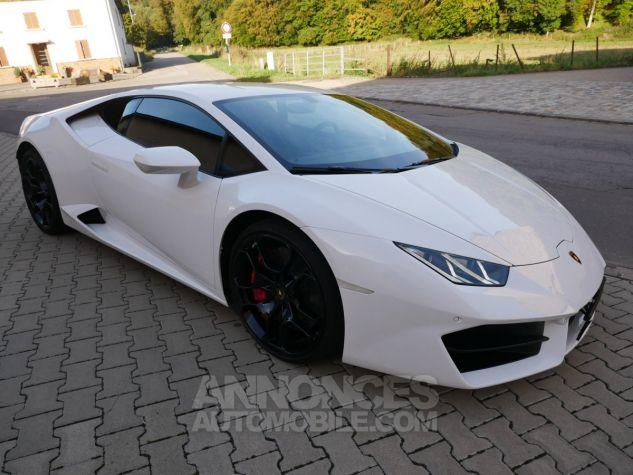 Lamborghini Huracan LP580-2, RWD, Lifting System, Freins céramique, Échappement sport Bianco Monocerus Occasion - 2