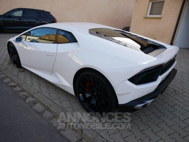 Lamborghini Huracan LP580-2, RWD, Lifting System, Freins céramique, Échappement sport Bianco Monocerus Occasion - 4