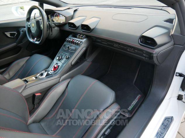 Lamborghini Huracan LP580-2, RWD, Lifting System, Freins céramique, Échappement sport Bianco Monocerus Occasion - 6