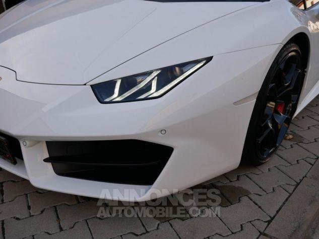 Lamborghini Huracan LP580-2, RWD, Lifting System, Freins céramique, Échappement sport Bianco Monocerus Occasion - 10