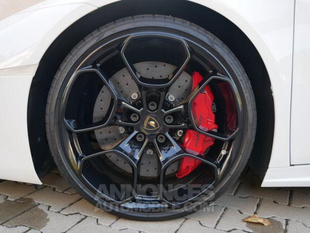 Lamborghini Huracan LP580-2, RWD, Lifting System, Freins céramique, Échappement sport Bianco Monocerus Occasion - 11