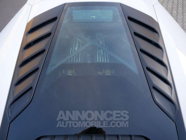 Lamborghini Huracan LP580-2, RWD, Lifting System, Freins céramique, Échappement sport Bianco Monocerus Occasion - 12