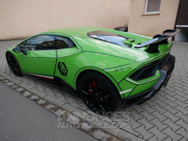 Lamborghini Huracan Performante, Lift System+Magneto, Caméra, Navi Verde Mantis Occasion - 5