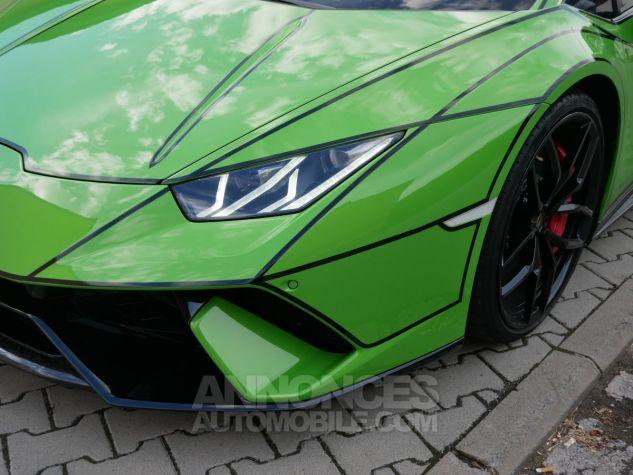 Lamborghini Huracan Performante, Lift System+Magneto, Caméra, Navi Verde Mantis Occasion - 10