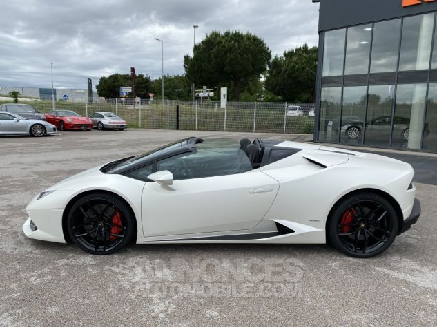 Lamborghini Huracan SPYDER 610-4 Bianco Canopus Matt Occasion - 4