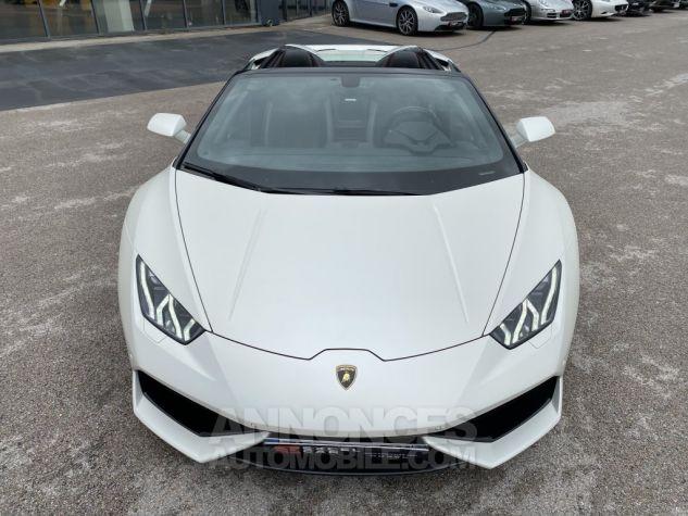 Lamborghini Huracan SPYDER 610-4 Bianco Canopus Matt Occasion - 5