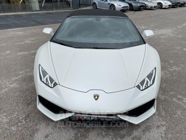Lamborghini Huracan SPYDER 610-4 Bianco Canopus Matt Occasion - 6