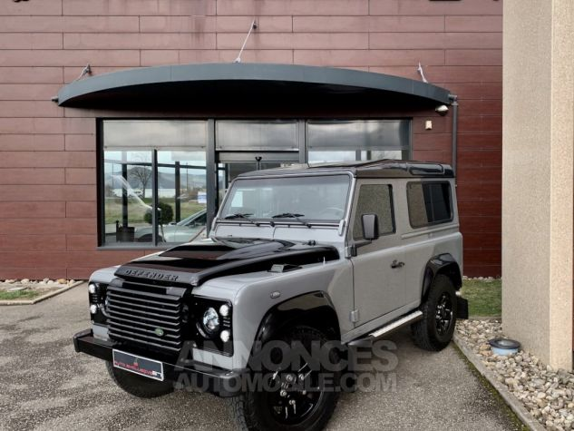Land Rover Defender Station Wagon 90 TD4 122 AUTOBIOGRAPHY BLACK bicolore Occasion - 1