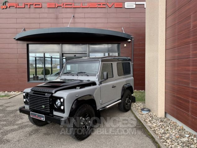 Land Rover Defender Station Wagon 90 TD4 122 AUTOBIOGRAPHY BLACK bicolore Occasion - 3