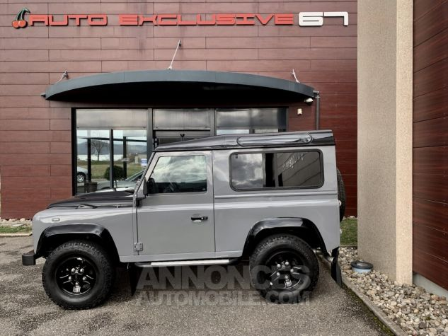 Land Rover Defender Station Wagon 90 TD4 122 AUTOBIOGRAPHY BLACK bicolore Occasion - 5