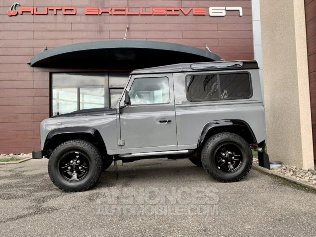 Land Rover Defender Station Wagon 90 TD4 122 AUTOBIOGRAPHY BLACK bicolore Occasion - 6