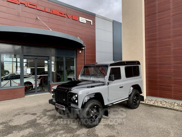 Land Rover Defender Station Wagon 90 TD4 122 AUTOBIOGRAPHY BLACK bicolore Occasion - 7