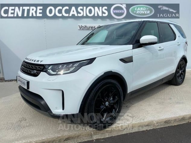 Land Rover Discovery 2.0 Sd4 15CV 240 SE 7PL Blanc Occasion - 0