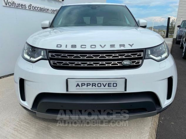 Land Rover Discovery 2.0 Sd4 15CV 240 SE 7PL Blanc Occasion - 7