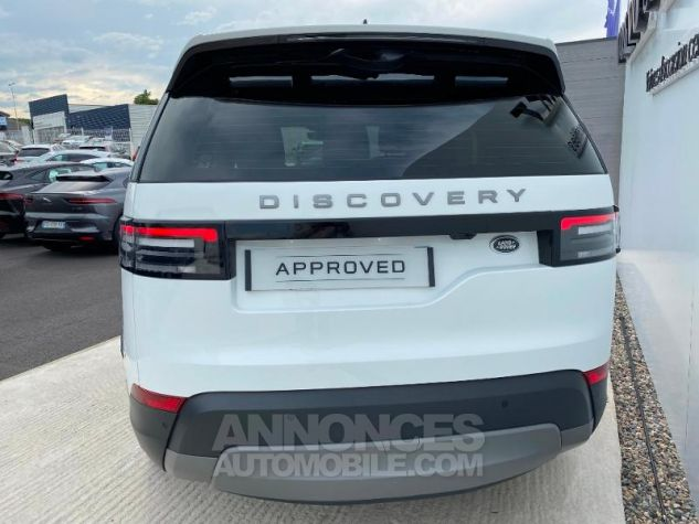 Land Rover Discovery 2.0 Sd4 15CV 240 SE 7PL Blanc Occasion - 9