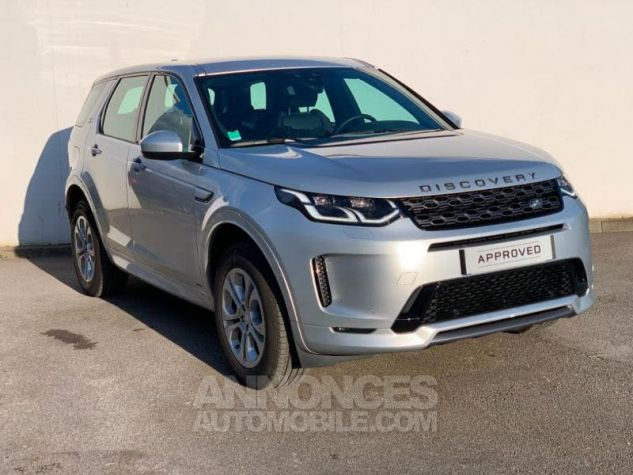 Land Rover Discovery Sport 2.0 D 150 R-Dynamic S AWD BVA MkV Argenté (INDUS SILVER) Occasion - 0