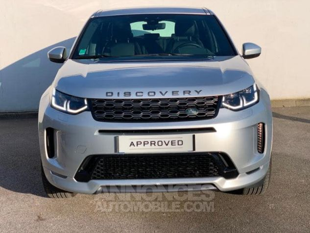 Land Rover Discovery Sport 2.0 D 150 R-Dynamic S AWD BVA MkV Argenté (INDUS SILVER) Occasion - 1