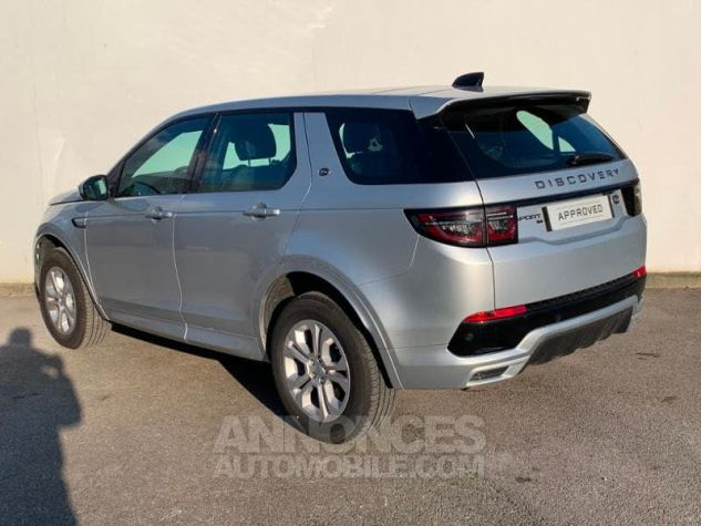 Land Rover Discovery Sport 2.0 D 150 R-Dynamic S AWD BVA MkV Argenté (INDUS SILVER) Occasion - 3