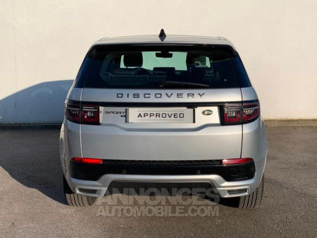 Land Rover Discovery Sport 2.0 D 150 R-Dynamic S AWD BVA MkV Argenté (INDUS SILVER) Occasion - 4