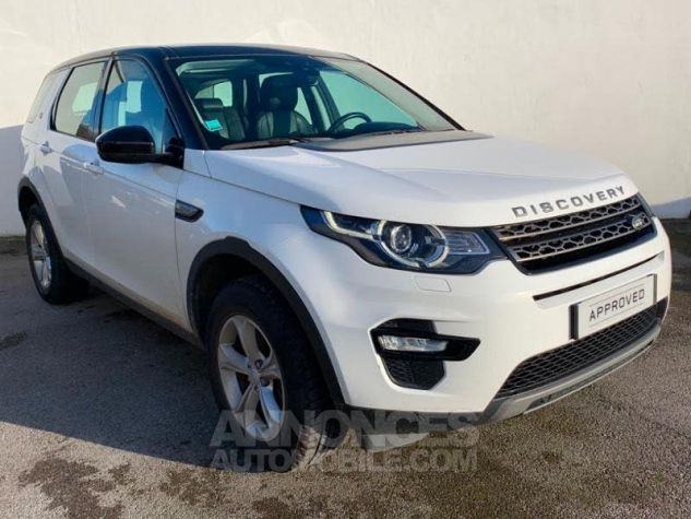 Land Rover Discovery Sport 2.0 TD4 150 AWD SE MkII BLANC FUJI Occasion - 0