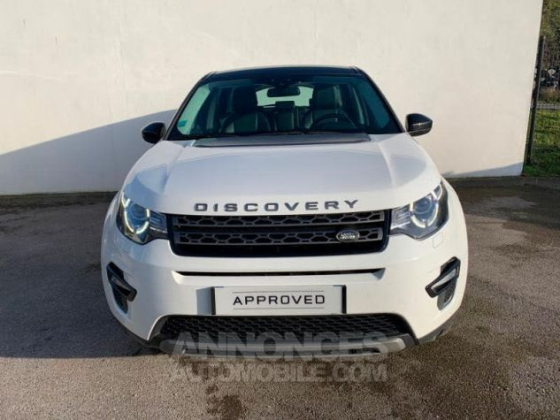 Land Rover Discovery Sport 2.0 TD4 150 AWD SE MkII BLANC FUJI Occasion - 1