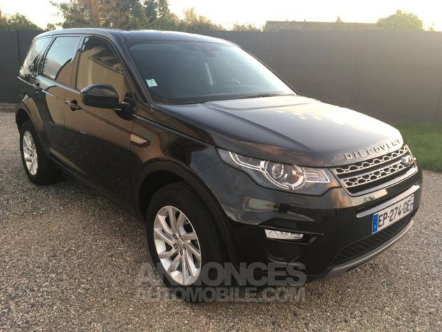 Land Rover Discovery Sport SE 4WD AUTO Noir Occasion - 0