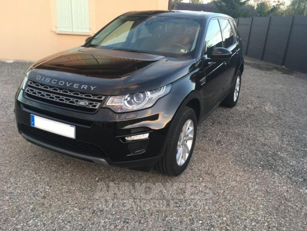 Land Rover Discovery Sport SE 4WD AUTO Noir Occasion - 1
