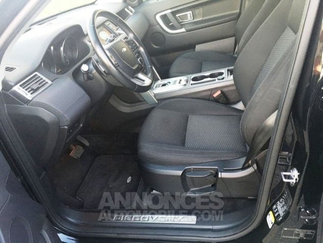 Land Rover Discovery Sport SE 4WD AUTO Noir Occasion - 7