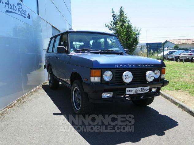 Land Rover Range Rover Classic Vogue SE V8 BVM 4-portes Bleu métallisée Occasion - 2