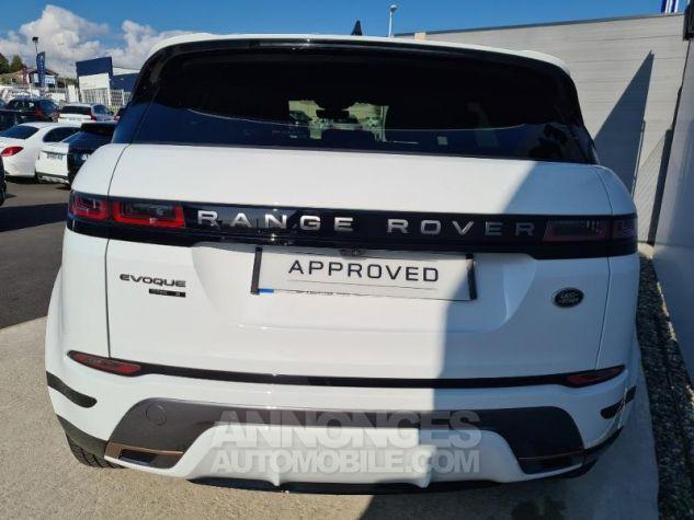 Land Rover Range Rover Evoque 2.0 D 150ch R-Dynamic S AWD BVA Blanc Occasion - 8