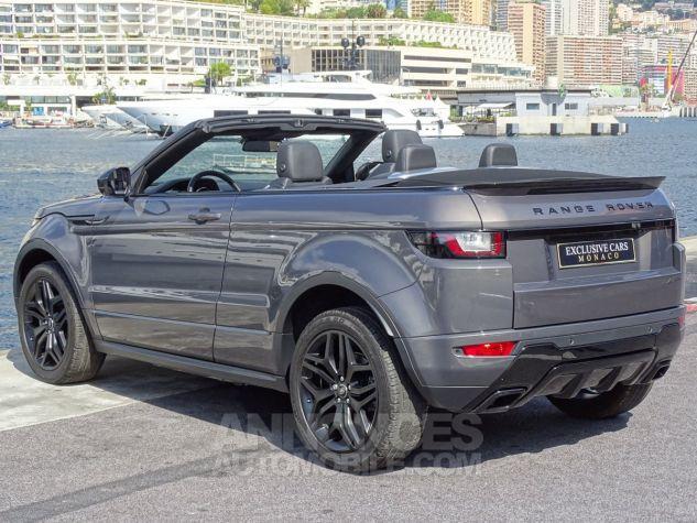 Land Rover Range Rover Evoque CABRIOLET 2.0 TD4 HSE DYNAMIC 180 CV BLACK LINE Gris Métal Leasing - 4