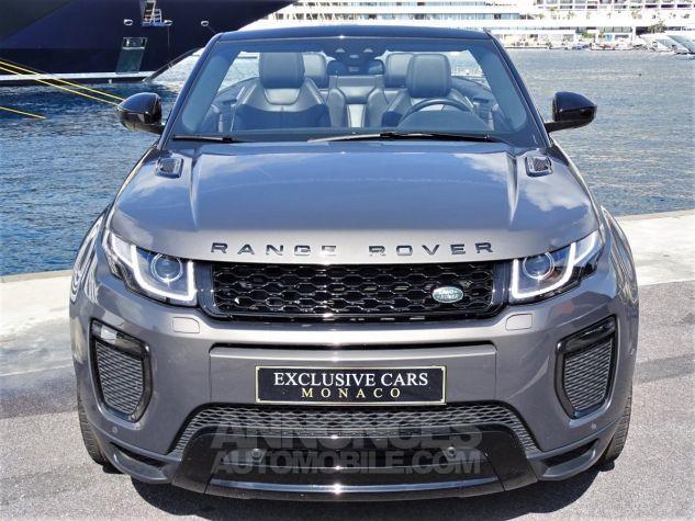Land Rover Range Rover Evoque CABRIOLET 2.0 TD4 HSE DYNAMIC 180 CV BLACK LINE Gris Métal Leasing - 12