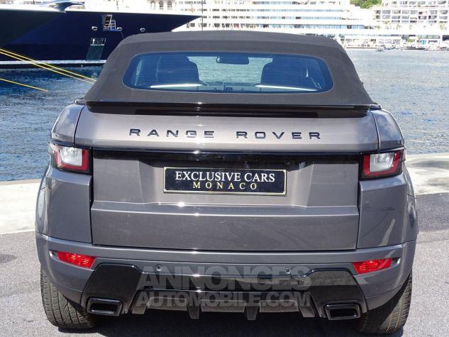 Land Rover Range Rover Evoque CABRIOLET 2.0 TD4 HSE DYNAMIC 180 CV BLACK LINE Gris Métal Leasing - 13