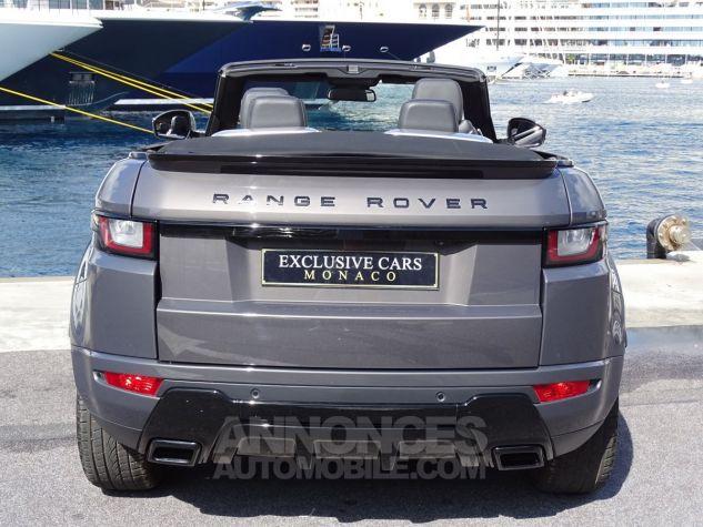 Land Rover Range Rover Evoque CABRIOLET 2.0 TD4 HSE DYNAMIC 180 CV BLACK LINE Gris Métal Leasing - 16