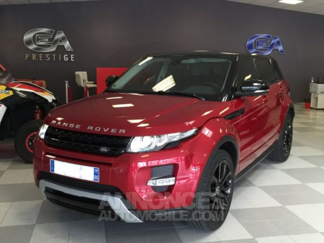 Land Rover Range Rover Evoque dynamic rouge Occasion - 0