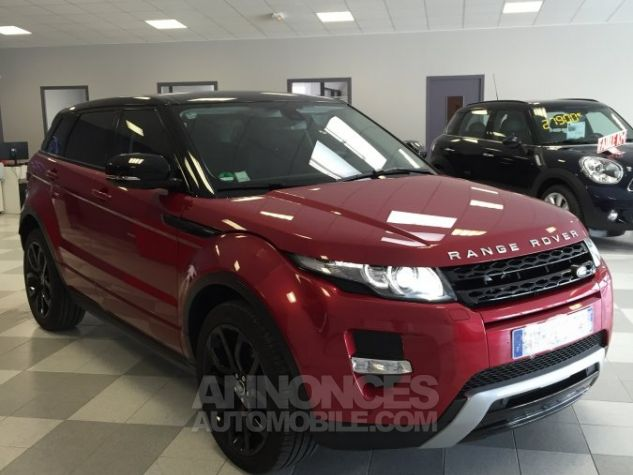 Land Rover Range Rover Evoque dynamic rouge Occasion - 1