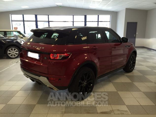Land Rover Range Rover Evoque dynamic rouge Occasion - 2