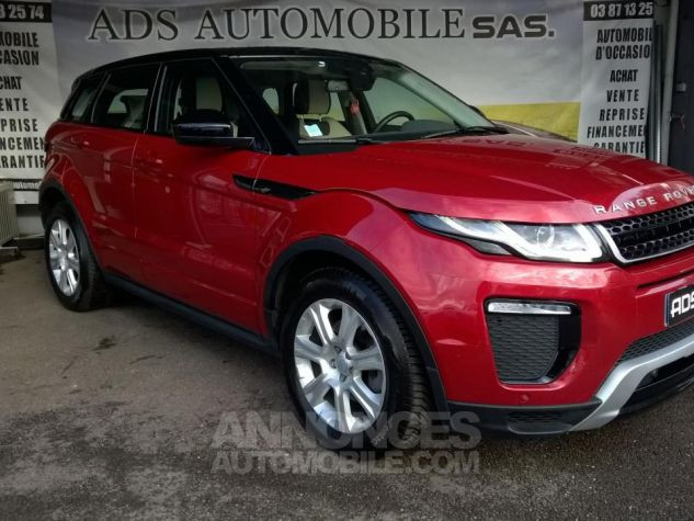 Land Rover Range Rover Evoque MARK III TD4 150 SE Dynamic A Rouge Occasion - 0