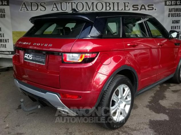 Land Rover Range Rover Evoque MARK III TD4 150 SE Dynamic A Rouge Occasion - 1