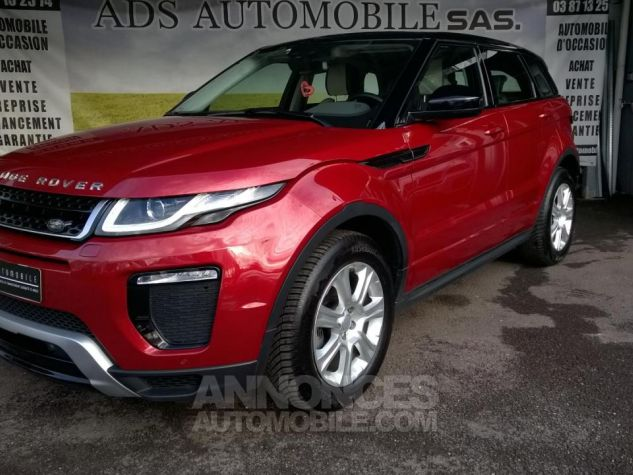 Land Rover Range Rover Evoque MARK III TD4 150 SE Dynamic A Rouge Occasion - 2