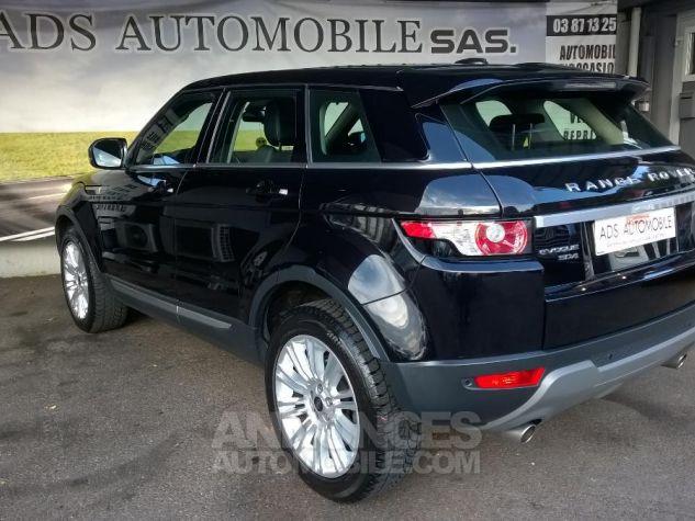 Land Rover Range Rover Evoque SD4 Dynamic A Noir Occasion - 3